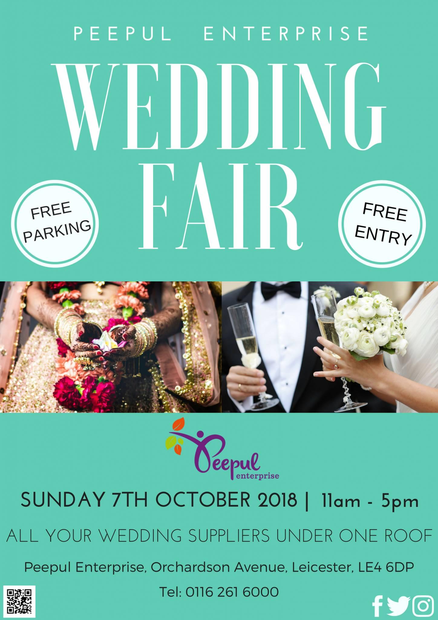 Calling All Brides And Grooms Pul Enterprise Wedding Fair